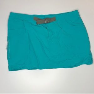 Columbia Omni Wick Teal Athletic Skirt 12